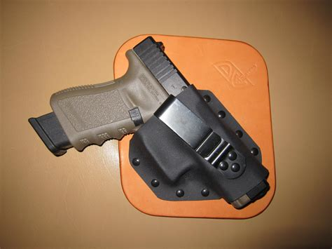 inside the waistband concealed carry holster dc holsters leather kydex hybrid ultra concealment