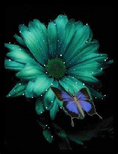 Multi Colored Chandelier Teal Flower Wedding Bells Flowers Pinterest