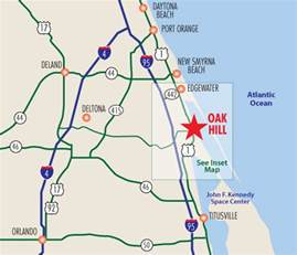 oak hill florida map welcome to florida oak hill florida