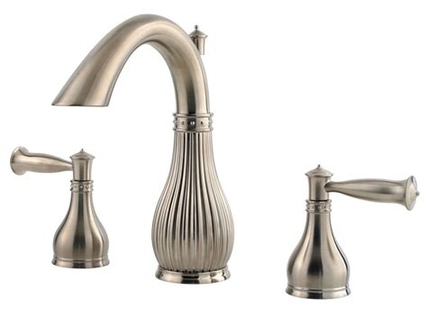 8 Inch Widespread Faucet by Pfister Virtue Lead Free 8 Inch Widespread Lavatory Faucet
