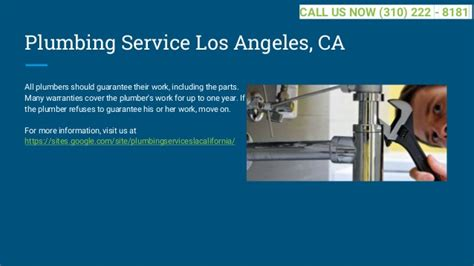 Plumbing In Los Angeles best plumbing los angeles ca