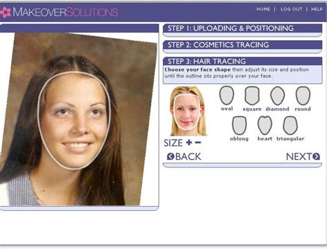 determine face shape online choose hairstyle upload photo hairstyles