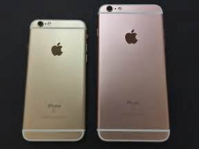 compare iphone 6 and 6s iphone 6s and iphone 6s plus unboxing comparison gallery ilounge news
