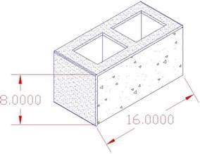 concrete block sizes gtcncmu nominal vs actual standard sizes for concrete blocks