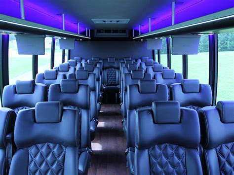 how many couches are there in america mini bus rental pricing