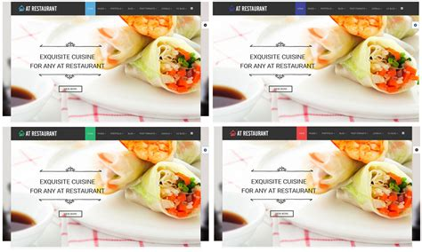 free bootstrap templates for online food order at restaurant free food order restaurant joomla