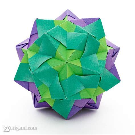 Origami Modular - sonobe variation by sinayskaya go origami