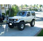 1987 Toyota Land Cruiser  Information And Photos MOMENTcar