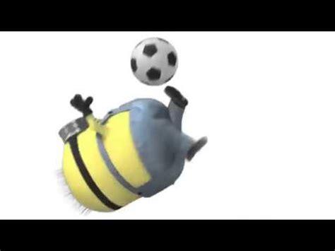 imagenes de minions jugando soccer minions jugando futbol mi villano favorito 2 youtube