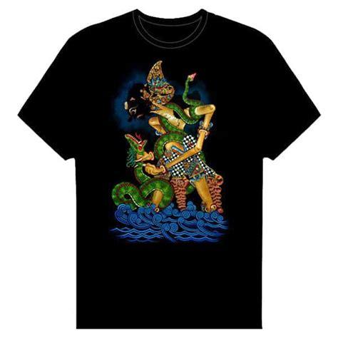 Kaos I Bima kaos gambar bima dan ular naga pusaka dunia