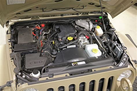 Jeep Wrangler With Diesel Engine The Jeep Wrangler Commando Is Ready For War And Peace