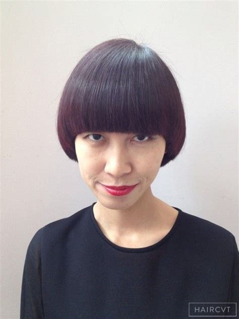 long geometric rounded graduation haircut bowl cuts 100 best halo bob images on pinterest hair dos short