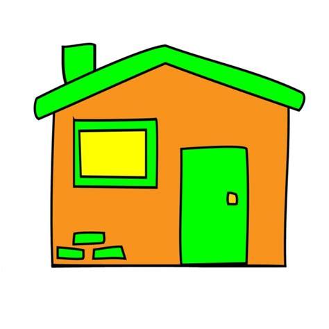 colori per bambini disegno di la casetta a colori per bambini