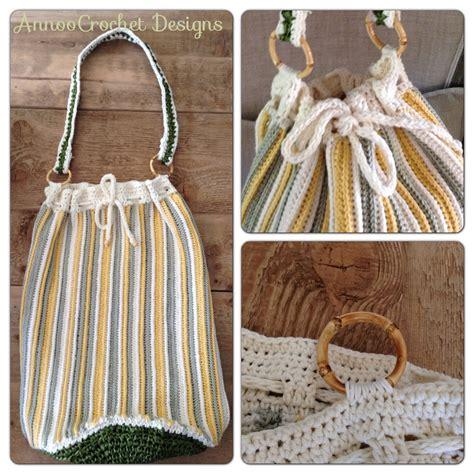 crochet pattern net bag rafia beach bag free crochet pattern allcrafts free