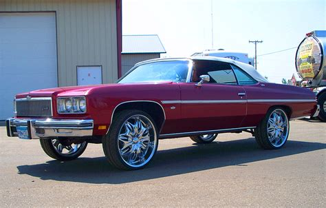 1975 chevrolet caprice convertible donk classic cars