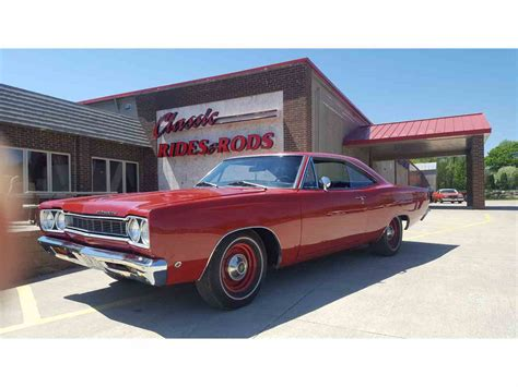68 plymouth satellite for sale 1968 plymouth satellite for sale classiccars cc 984237