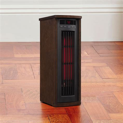 duraflame infrared 1 000 sq ft tower power heater in