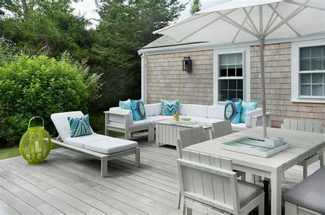 Redwood Patio Furniture 20 Dreamy Beach Style Decks For A Relaxing Staycation