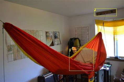 how to hang a hammock in a bedroom 23 best diy indoor hammock images on pinterest diy