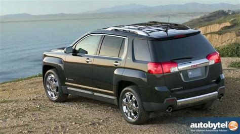 2012 gmc terrain review 2012 gmc terrain road test crossover suv review