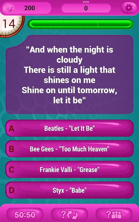 guess the lyrics printable quiz guess the lyrics pop quiz android apps on google play