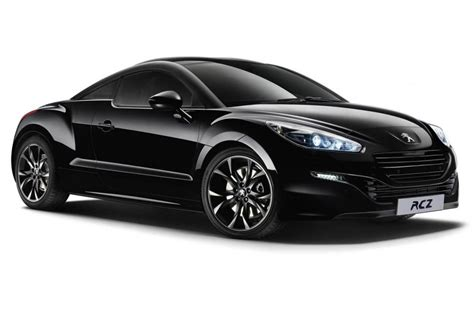 peugeot rcz black peugeot rcz magnetic limited edition evo