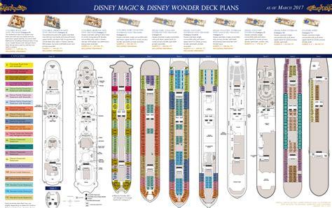 Deck Plan by Deck Plans Disney Magic Disney The Disney