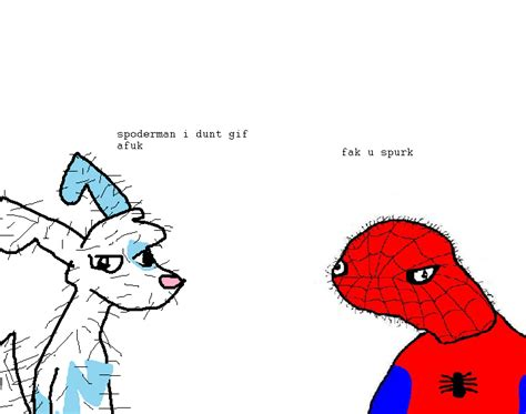 spoderman template fak u spurk by gexomantv on deviantart