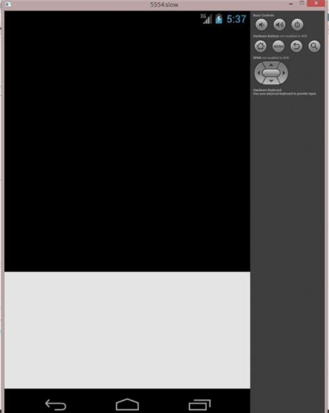 Android App Black Screen by Android Avd Quot Use Host Gpu Quot Cause Black Screen When Testing