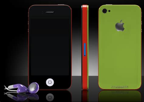 Colorware Spruces Up The Iphone by Colorware Iphone 4 Explodes On The With A Myriad Of