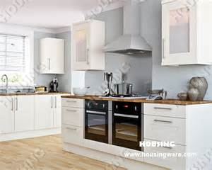 White Laminate Kitchen Cabinets Classcial Designs White Pvc Laminate Kitchen Cabinet Door