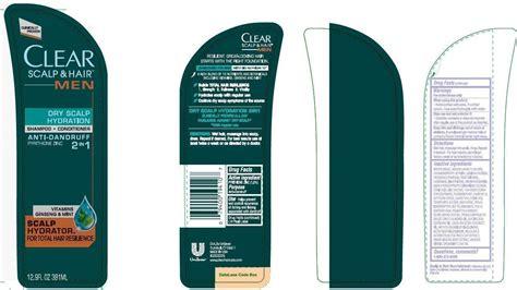 hydration zinc clear 2 in 1 scalp hydration antidandruff conopco