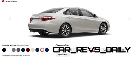 Toyota Camry Car Colors 2015 Toyota Camry Xle Colors 39