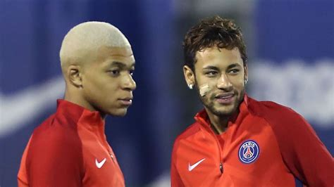kylian mbappe and neymar neymar plays for the team mbappe claims