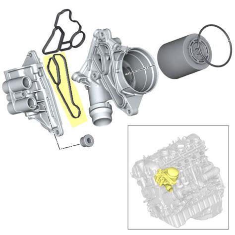 n54 oil filter housing gasket bmw gasket oil filter housing heat exchanger n54 n55 n20 n26 n52 11428637820