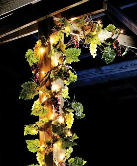 outdoor lighted christmas decorations garland 17 amazing