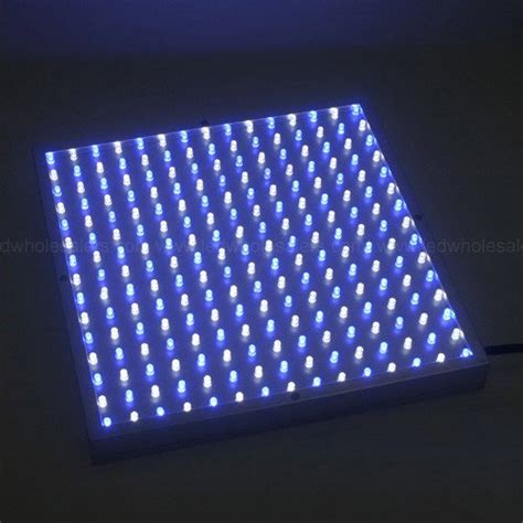 Ledwholesalers 2501w B Blue White 225 Led 13 8 Watt Square Ledwholesalers Led Lights