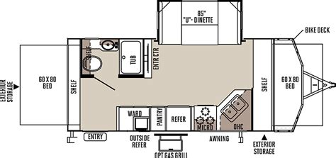 flagstaff travel trailer floor plans flagstaff shamrock travel trailers floor plans access rv