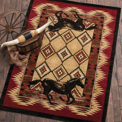 desert horse rug 8 x 10