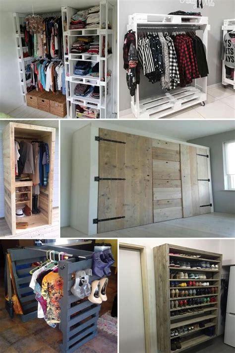 armarios hechos con palets ideas de armarios hechos con palets hojas