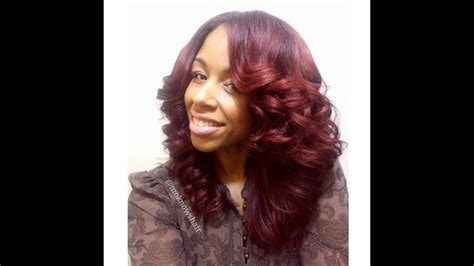 mo knows hair color flat iron curls