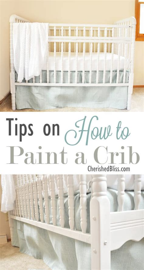 Safe Paint For A Crib by Tips On How To Paint A Crib Cherished Bliss