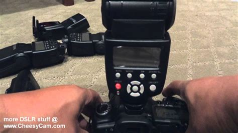tutorial flash yongnuo 565ex yongnuo yn 565ex ettl speedlite flash review youtube