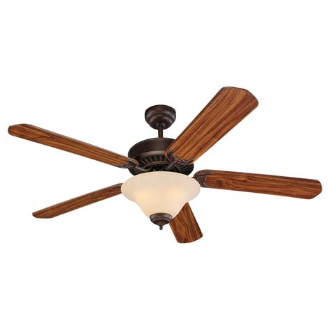 Quality Ceiling Fans With Lights Sea Gull Lighting Sgl 15161b 52 Quot Quality Pro Deluxe Ceiling Fan Shown In Bronze