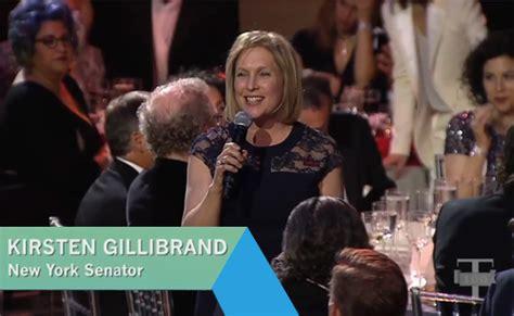 kirsten gillibrand grandmother kirsten gillibrand on hillary clinton s influence video