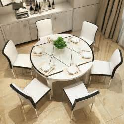 Extendable Dining Table And Chairs Extendable Dining Table Set And 6 Metal Leather Chairs New 2017 Aud 799 00 Picclick Au
