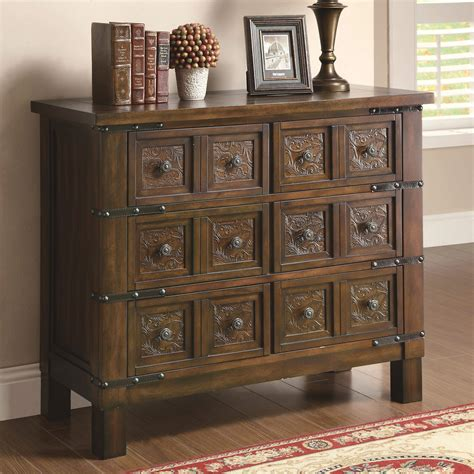 accent cabinet accent cabinets rustic brown accent cabinet with 6 drawers