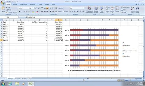 excel format for 2007 free gantt chart template for excel 2007 ondy spreadsheet