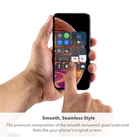 buy the zagg iphone xs max invisibleshield glass plus glass screen protectors 200102002