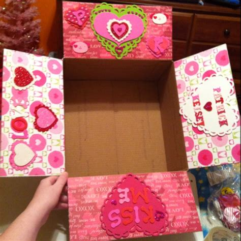 valentines care package valentines package made by me s care package